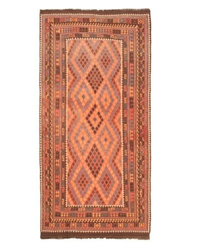 Shirvan Traditional Kilim, Red, 7' 3 x 15' 5