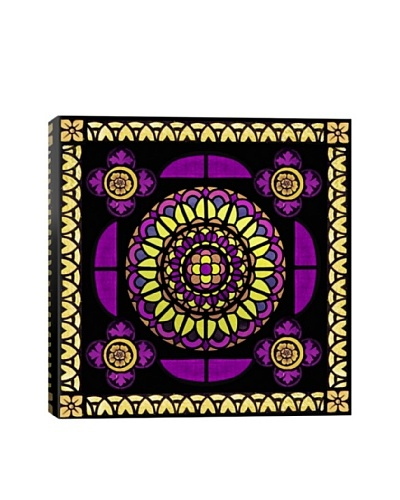 Single Royalty Stained Glass Giclée On Canvas
