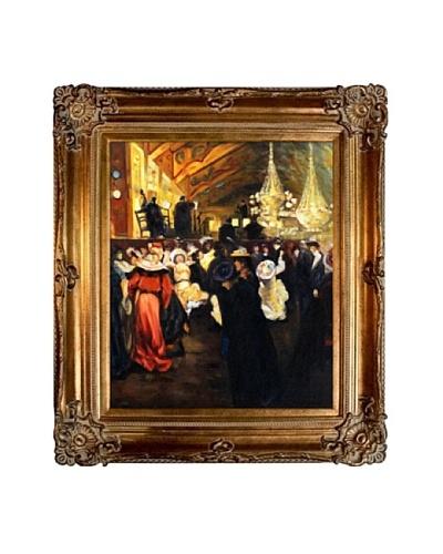 "Oil Reproduction of Alfred Maurer's ""Le Bal au Moulin-Rouge,"" 1902"