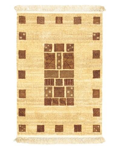 Soraya Silko Modern Rug, Beige, 3' 3 x 4' 7