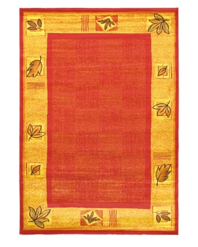 "Alicante Casual Rug, Red, 5' 3"" x 7' 7"""