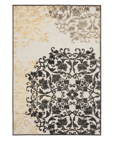 Braque Rug, Dark Brown/Light Gray, 5' 2 x 7' 6