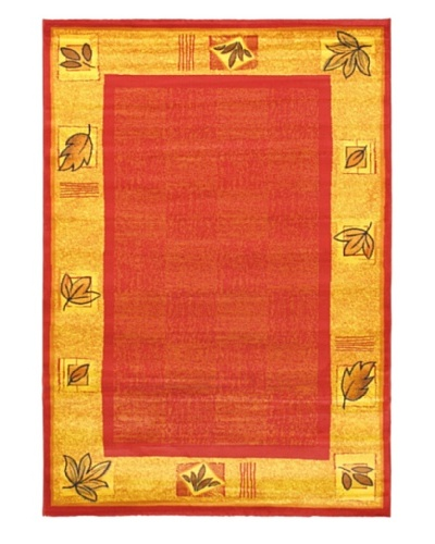 "Alicante Rug, Red, 5' 3"" x 7' 7"""