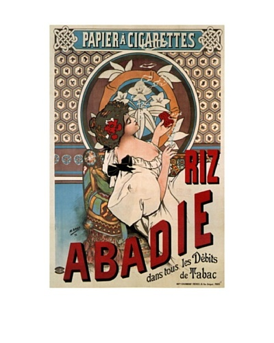 Abadie Cigs 1828 France Giclée Canvas Print