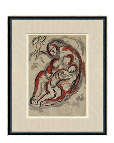 Marc Chagall: Agar Dans Le Desert, 1960