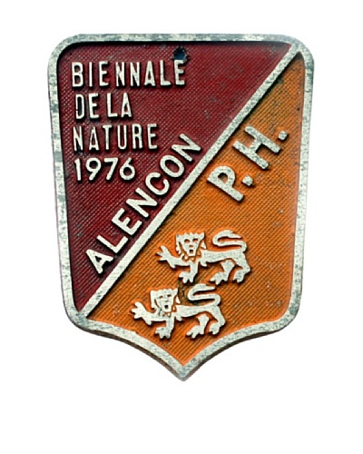 Steel French Sign Biennale Dela Nature 1976 Alencon PH