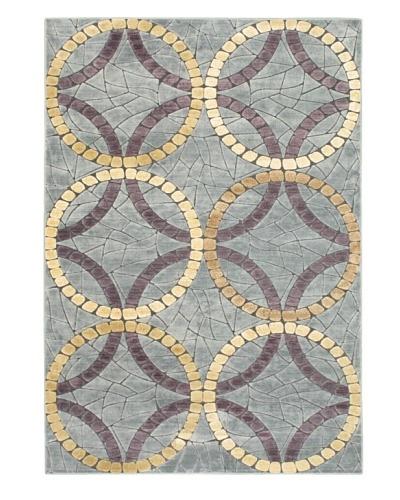 Braque Rug, Gray/Light Gold, 5' 2 x 7' 5