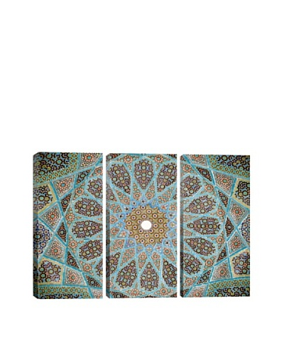 Tomb of Hafez Mosaic Photographic Art Triptych Print