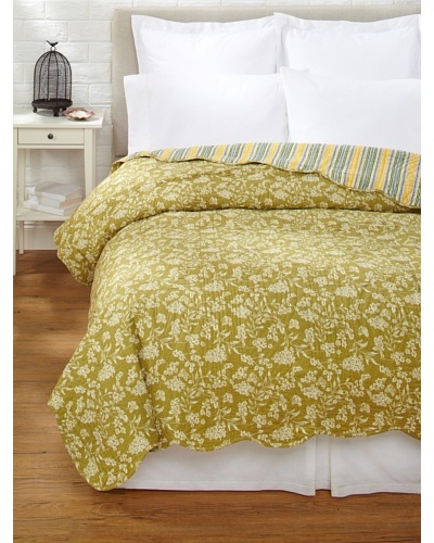 Toile Quilt [Green]