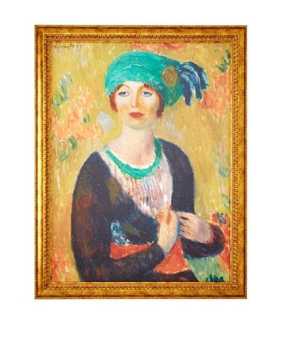 William James Glackens: Girl in Green Turban, 1913As You See
