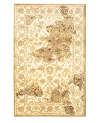 Handmade Natura Rug, Beige/Cream, 5' x 8'