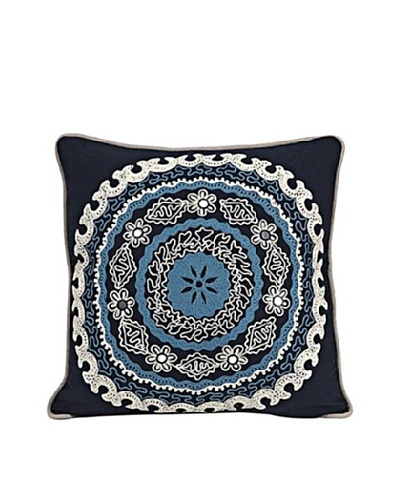 Biya Decorative Blue Pillow