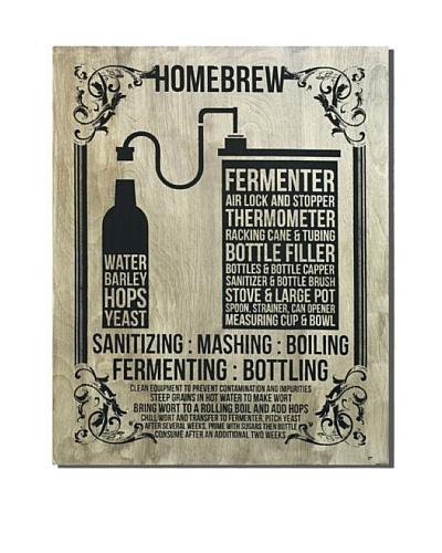 Brown Homebrew, 30 x 24