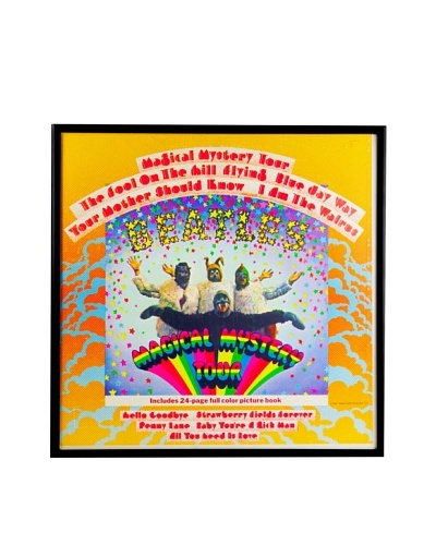 The Beatles: Magical Mystery Tour Framed Album CoverAs You See