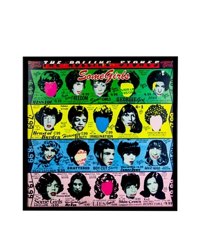 The Rolling Stones: Some Girls Framed Album CoverAs You See
