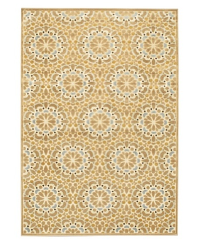 Ambrose Rug, Cream/Light Brown, 5' 3 x 7' 6