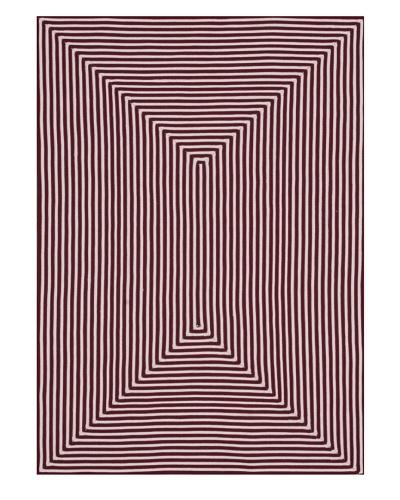 Stripes Indoor/Outdoor Rug [Red]