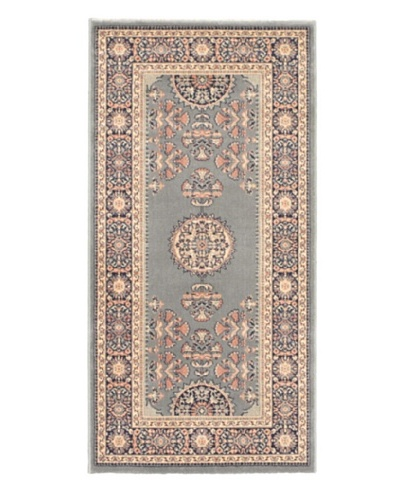 Oriental Garden Rug, Teal, 2' 3 x 4' 6