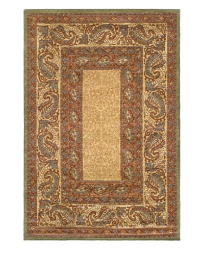 Royale Rug, Beige/Copper, 5' 3 x 7' 10