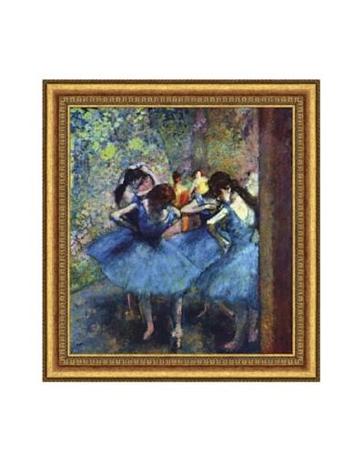 Edgar Degas Ballerinas Framed Canvas, 20 x 18
