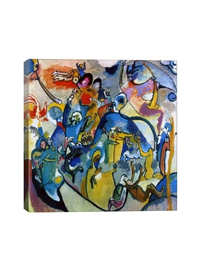 Wassily Kandinsky's All Saints Day II Giclée Canvas Print