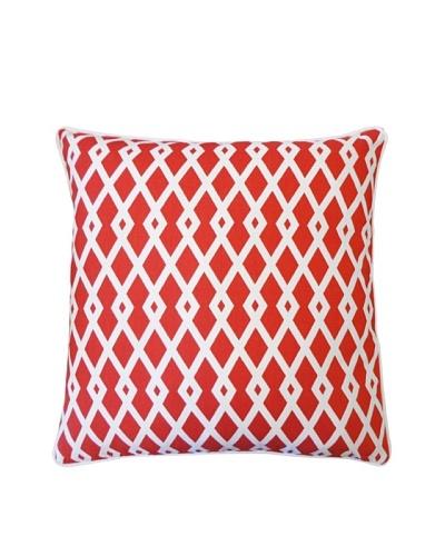 Moderna Throw Pillow, Red