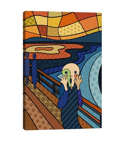 The Scream 3 (After Edvard Munch) Canvas Giclée Print