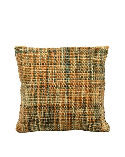 Joseph Abboud Basket Weave Pillow, Multi, 20 x 20