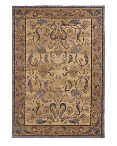 Royale Rug, Copper/Khaki, 5' 3 x 7' 6