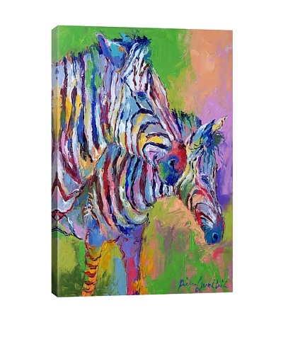Zebra by Richard Wallich Giclée on Canvas