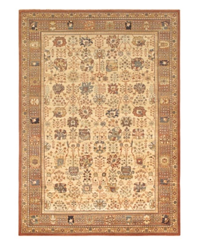 """Royale Traditional Rug, Ivory, 7' 10"""" x 11' 2"""""""