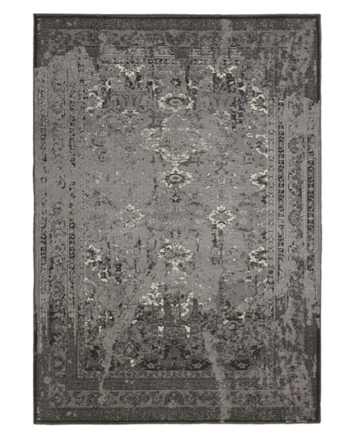 Wash Area Rug, Light Grey, 5' 5 x 7' 8