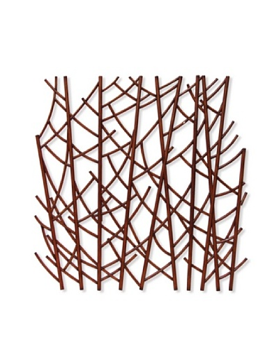 Rattan Forest Wall Decor Small