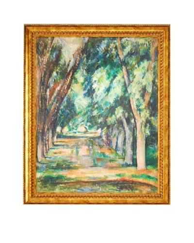Paul Cézanne: The Allee of Chestnut Trees at Jas de Bouffon (L'allee des marronniers au Jas de Bouff...