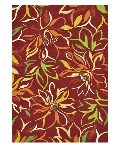 Sunshine Collection Indoor/Outdoor Rug [Crimson]