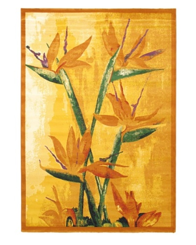 Alicante Rug, Light Orange, 5' 3 x 7' 7