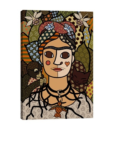 Self Portrait (After Frida Kahlo) Canvas Giclée Print