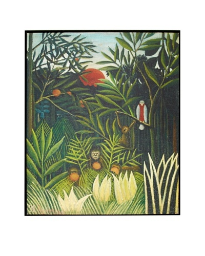 Henri Rousseau: Monkeys and Parrot (Singes et perroquet dans la forêt vierge), 1905-1906As You See