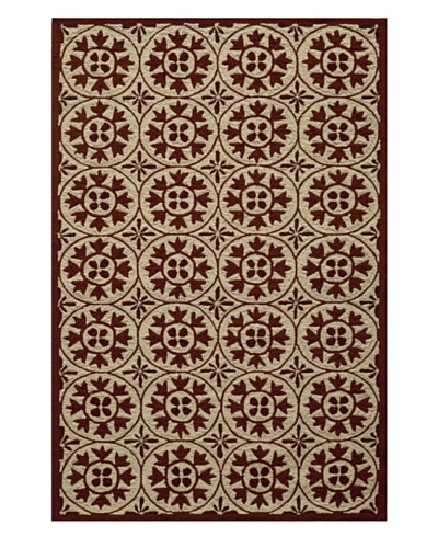 Veranda Indoor/Outdoor Rug [Red]