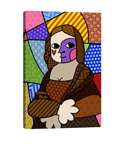 Mona Lisa 2 (After Leonardo Da Vinci) Canvas Giclée Print