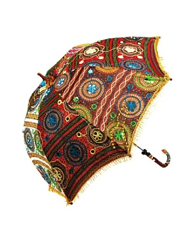 Decorative Patchwork Umbrella