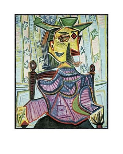 Pablo Picasso Seated Portrait of Dora Maar Framed Art