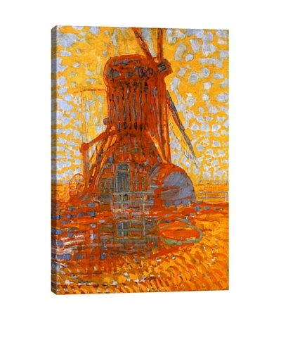 Piet Mondrian's Mill in Sunlight (1908) Giclée Canvas Print