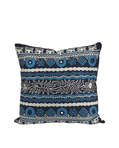 Sumir Decorative Blue Pillow
