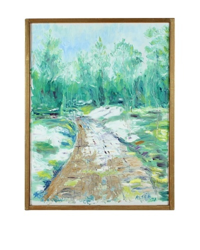 Woods, 1973 Framed Artwork