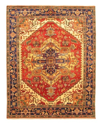 """Hand-Knotted Sarabi Traditional Rug, Dark Copper, 8' 4"""" x 10' 4"""""""