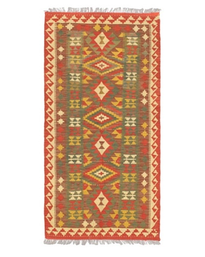 "Anatolian Kilim Transitional Kilim, Brown, 3' 2"" x 6' 5"""