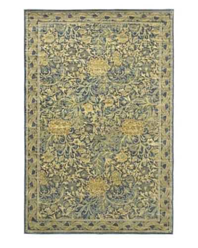 Persian Rug, Navy, 5' x 7' 4