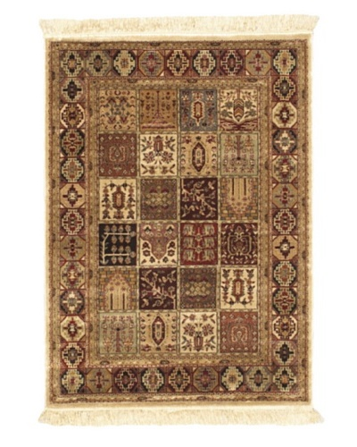Persian Traditional Rug, Brown, 3' 3 x 4' 7