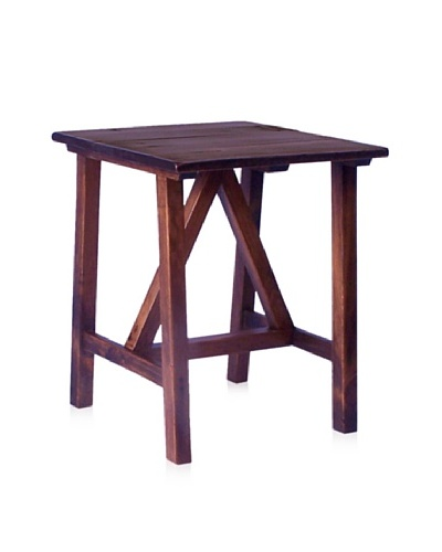 2 Day Designs Pine Creek End Table